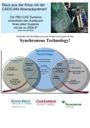 Synchronous Technology! - PBU Cad-Systeme