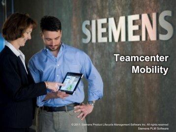 Teamcenter Mobility - PBU Cad-Systeme