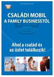Családi Mobil a Family Businesstől