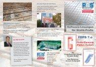 Finite-Elemente Platten-System - PBS Programmvertriebs GmbH
