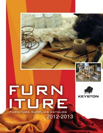 FURNITURE SUPPLIES CATALOG - Keyston Bros.