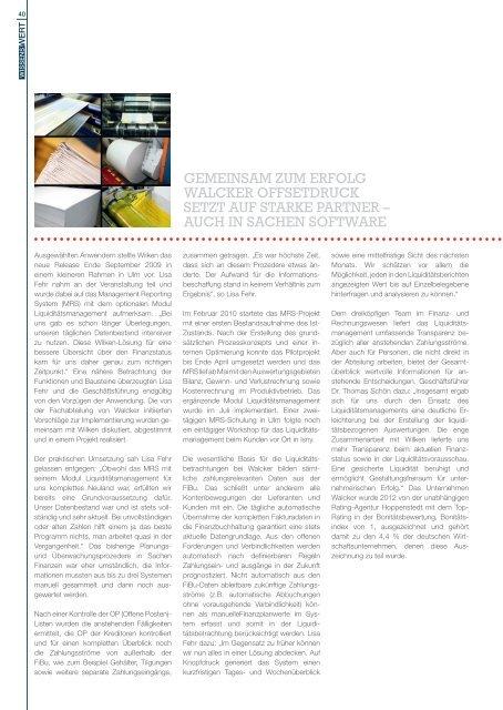 Klicken Sie auf die Titelseite - Wilken GmbH