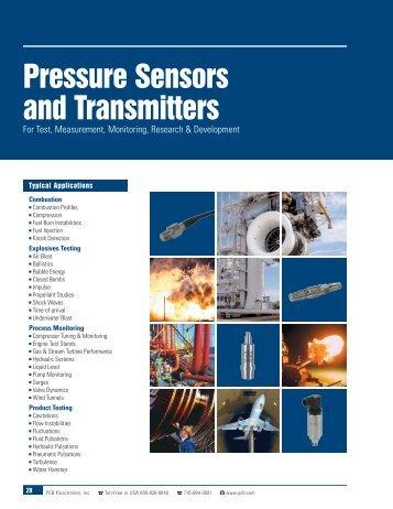 Pressure Sensors and Transmitters - STC_0207 - PCB Piezotronics
