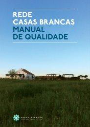 REDE CASAS BRANCAS MANUAL DE QUALIDADE