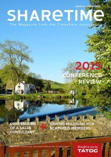 Sharetime magazine Spring 2015 from TATOC