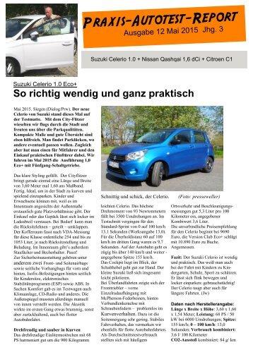 Praxis-Autotest-Report