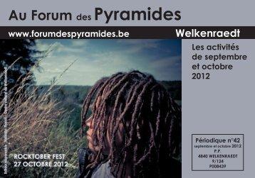 Au Forum des Pyramides - Centre Culturel de Welkenraedt