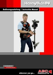 Anleitung - InstructionManual HandyMan DV 06_06 - ABC Products