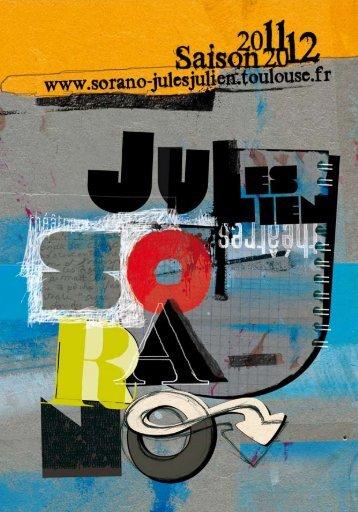 Le programme (.pdf) - Théâtres Sorano - Jules Julien