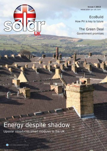 Energy despite shadow - Upsolar