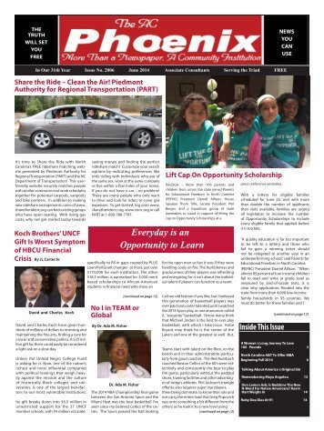 The AC Phoenix: More than a Newspaper, a Community Institution -- Issue No. 2014, June 2014
