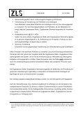 Mindestkriterien für die Einbindung von Personal in eine ... - ZLS - Seite 2