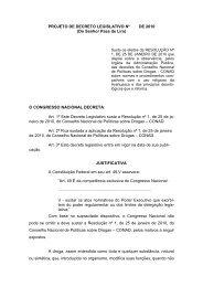PROJETO DE DECRETO LEGISLATIVO Nº DE 2010 (Do Senhor ...