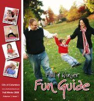 2008 Fall Fun Guide - Designs by LeaAnn M. Odekirk