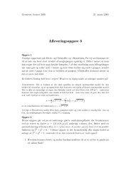 Afleveringsopgave 3 - dirac