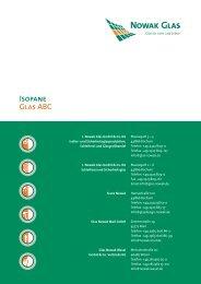 Isopane Glas ABC - Nowak Glas