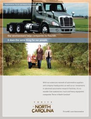 Automotive, Truck and Heavy Equipment - Thrive in NC