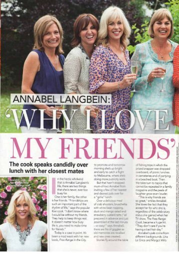 Read more. - Annabel Langbein