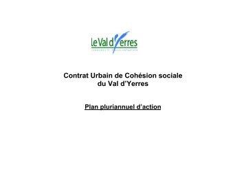 Contrat Urbain de Cohésion sociale du Val d'Yerres - CRPVE