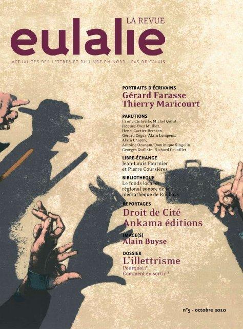 Droit De Cité Ankama éditions Lillettrisme Eulalie