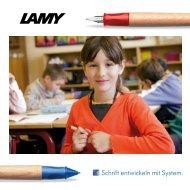Schrift entwickeln mit System. - Lamy