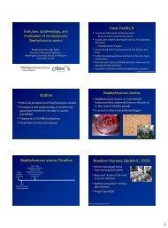 Evolution, Epidemiology, and Eradication of ... - SWACM