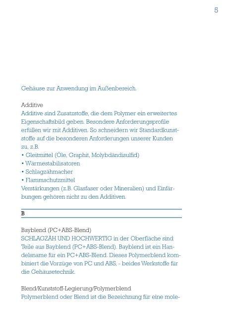 A6 kunststoff abc 8pkt - Kunststoff- und Elektrotechnik GmbH