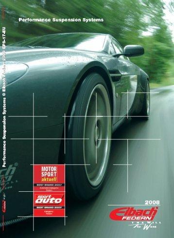 Eibach Katalog 2008.qxp