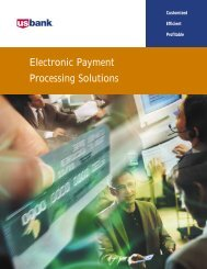 Electronic Payment Processing Solutions