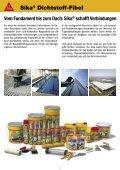Sika® Dichtstoff-Fibel - MaxDicht Silikon und Dichtstoffe - Seite 3