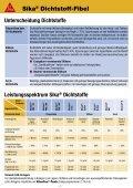 Sika® Dichtstoff-Fibel - MaxDicht Silikon und Dichtstoffe - Seite 4