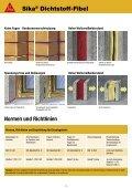 Sika® Dichtstoff-Fibel - MaxDicht Silikon und Dichtstoffe - Seite 5