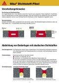 Sika® Dichtstoff-Fibel - MaxDicht Silikon und Dichtstoffe - Seite 7