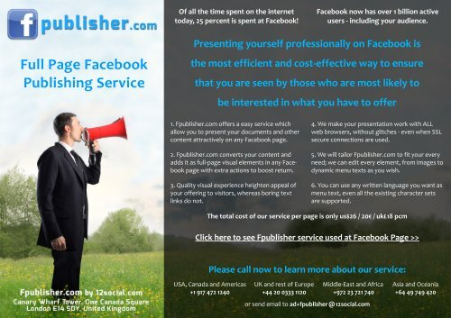 Full Page Facebook Publishing Service - Google Drive