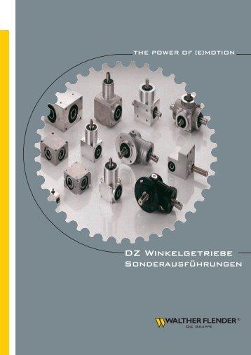 DZ Winkelgetriebe - Walther Flender