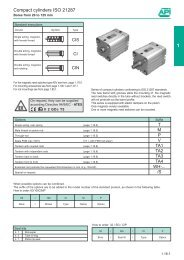 Compact cylinders - PMC Group