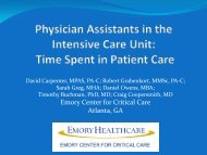 Time Spent in Patient Care - American Academy of Physician ...