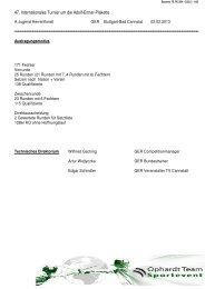 47. Internationales Turnier um die Adolf-Ermer-Plakette - ETUF Essen
