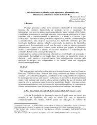 Contexto histórico e reflexões sobre hipertextos ... - cinted/ufrgs