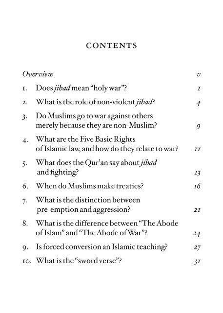 jihad and the islamic law of war - The Royal Islamic Strategic ...