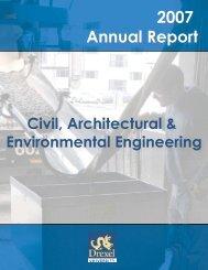 2007 Annual Report - Drexel University: CoE