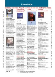 Ausstellungswand Fahrbar Seite 34 - Lehrmittel-Vierkant