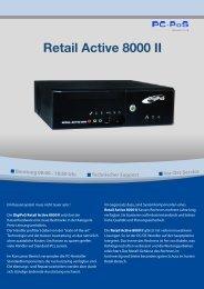 Datenblatt Retail Active 8000