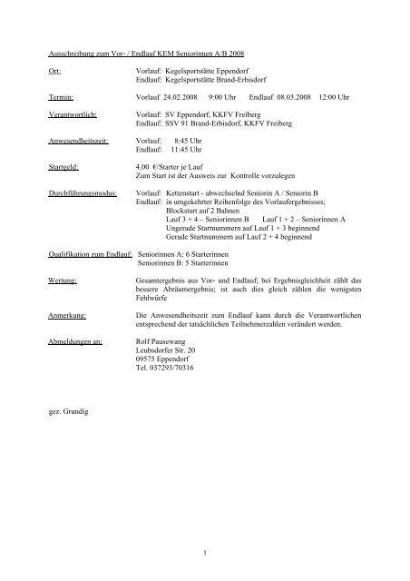 24.02.08 - Keglerkreisfachverband Freiberg eV