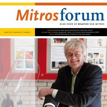 Bruggen bouwen met Vrede van Utrecht - Mitros