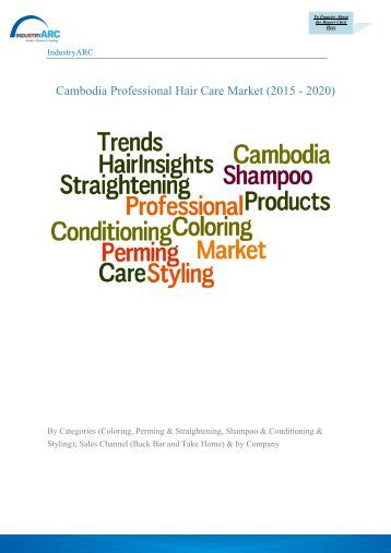 Hair Care Market Research Reports & Industry Analysis