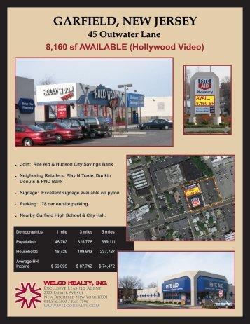 GARFIELD, NEW JERSEY - Welco Realty, Inc.