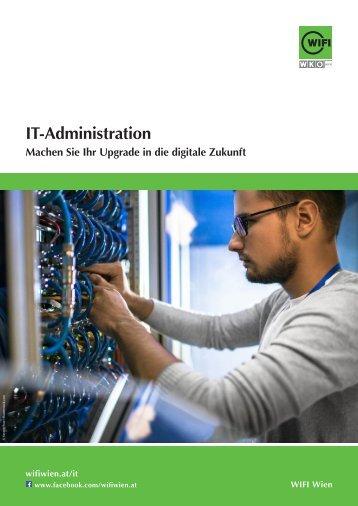 IT-Administration - Ausbildungen im WIFI Wien
