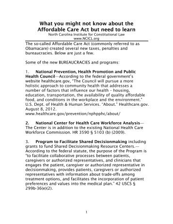 What you might not know about the Affordable Care Act but need to ...