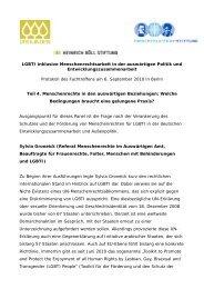 Menschenrechte in den auswärtigen Beziehungen - Hirschfeld-Eddy ...